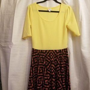 🛍BOGO 🛍Lularoe nicole  dress L